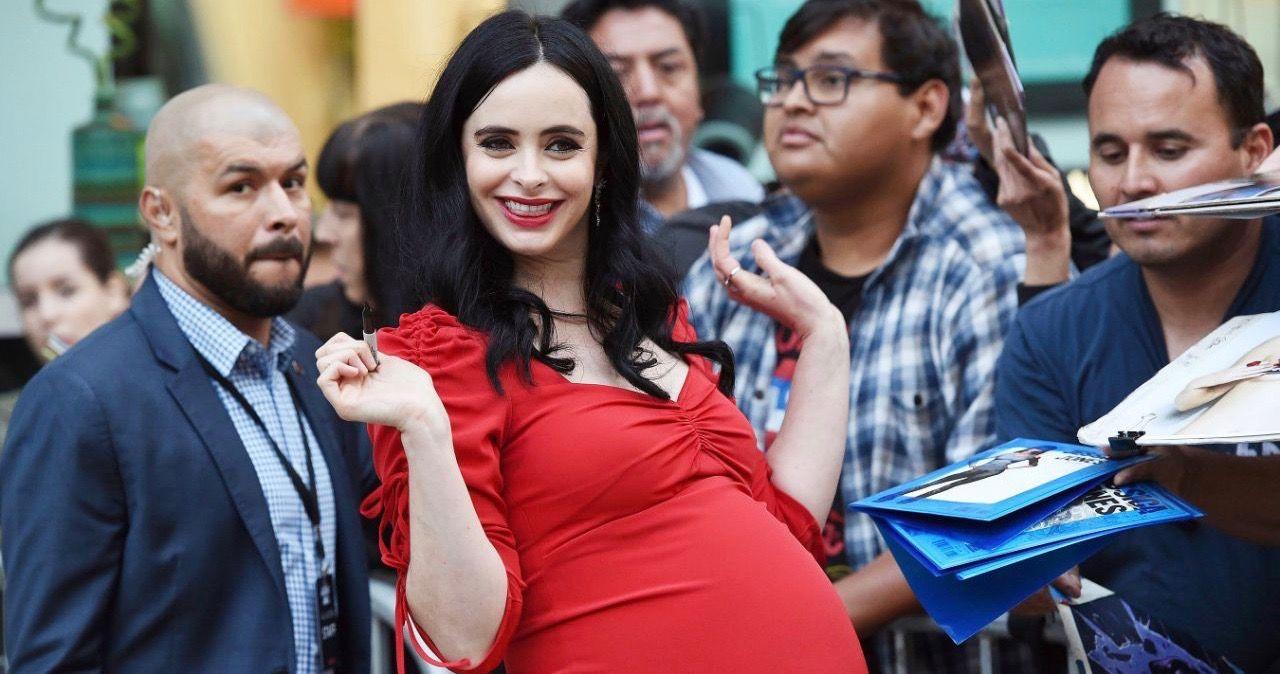 Pregnant Krysten Ritter Attends Jessica Jones Season 3 ...