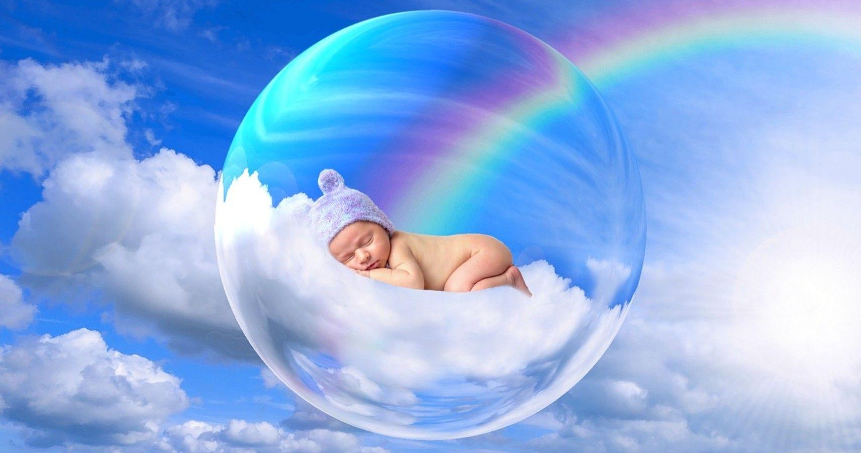 Baby Boy Born Inside An Intact Amniotic Sac Via C-Section